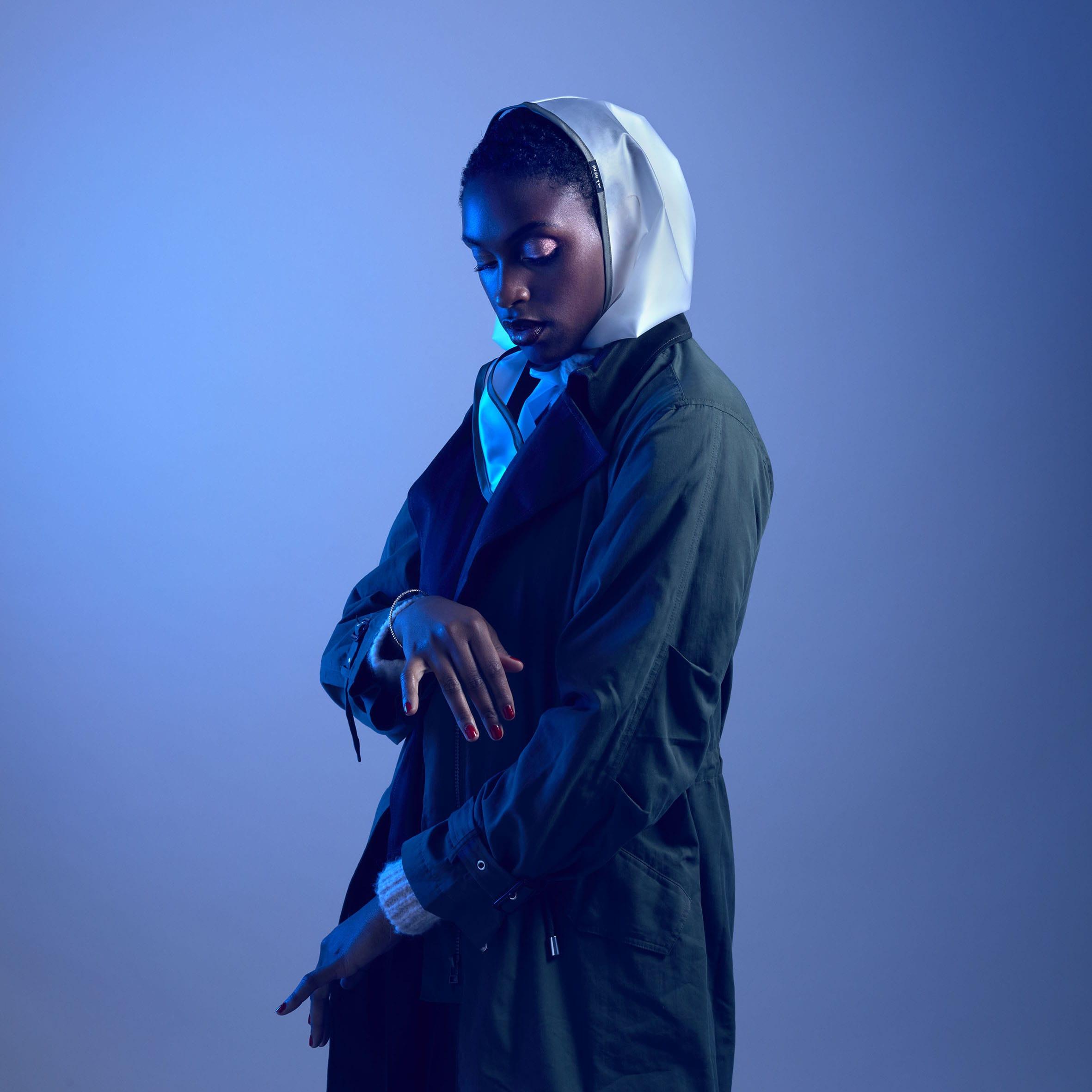 Les Capuches à Mémé - Transparent Khaki Rain Hood